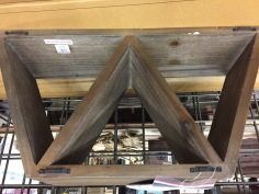 More angular shelf