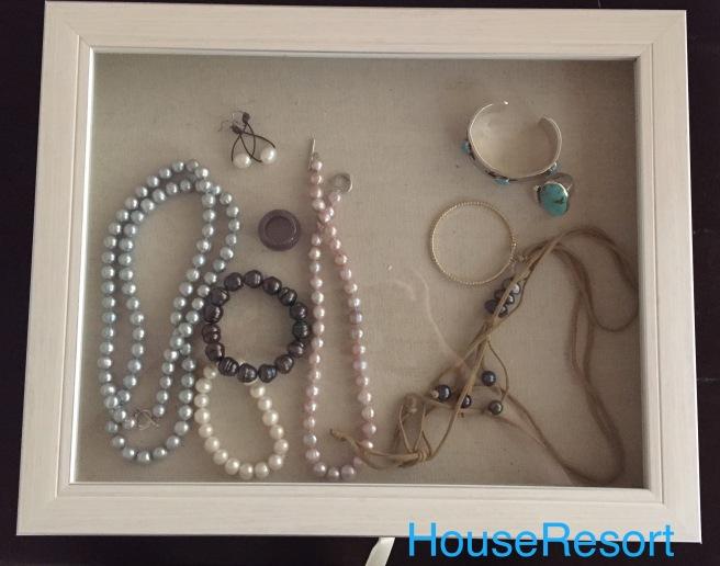 Jewelry in display box