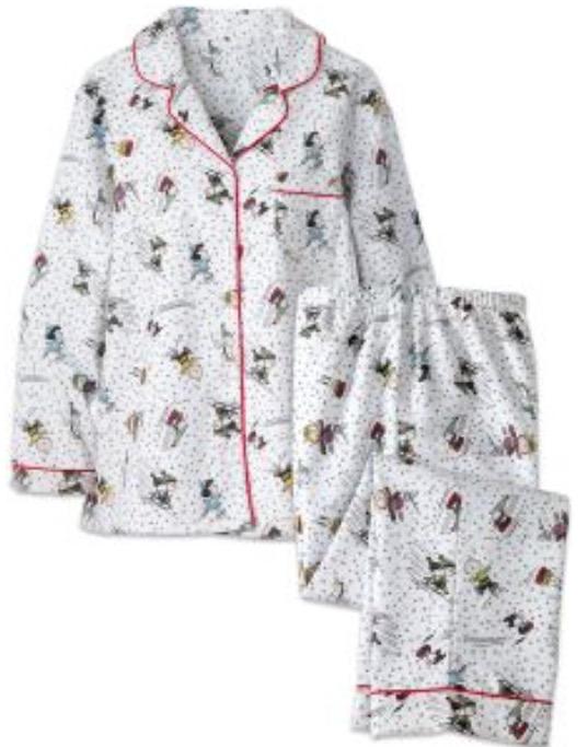 Women's flannel PJ