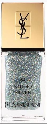 Yves Saint Laurent Beauty La Laque Couture in Studio Silver