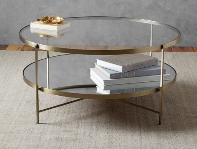 Potterybarn Leona Round coffee table