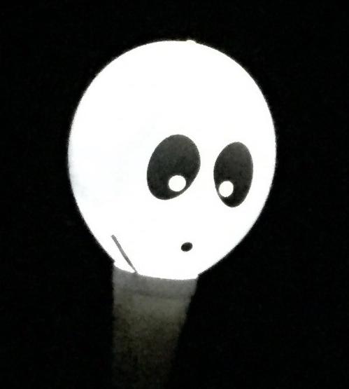 Light up skeleton balloons