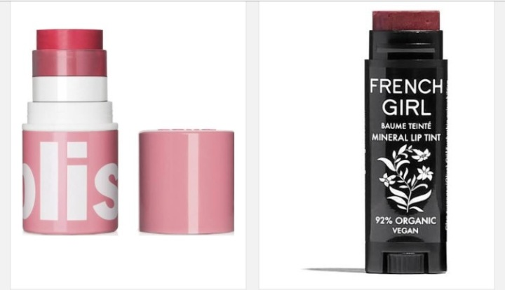 Bliss Tinted Lip Balm and French Girl Lip Balm