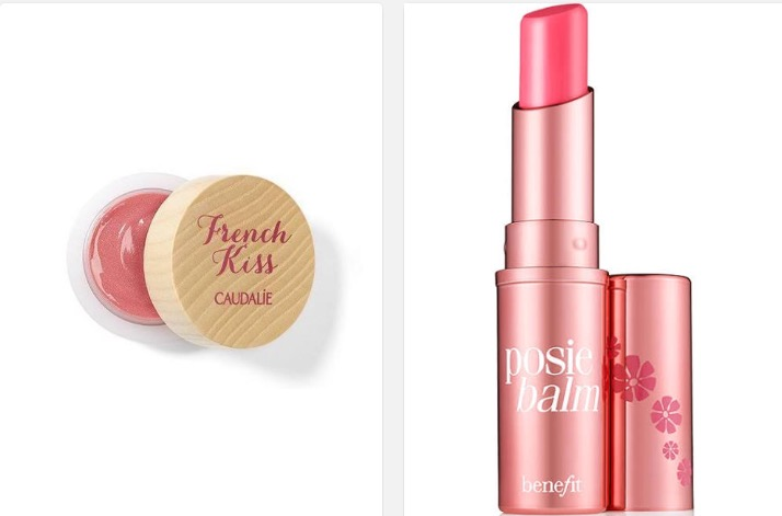 Caudalie French Kiss and Benefit Cosmetics Posibalm