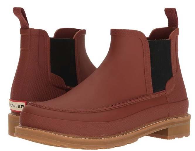 Hunter Mens's Rain Boots