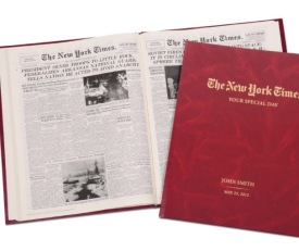 Complete New York Times Of Your Birthday