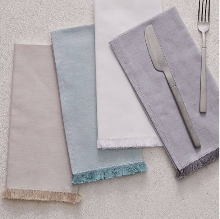 West Elm Linen Napkins
