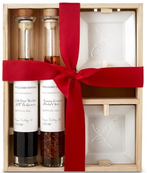 William Sonoma Dipping Oil Set