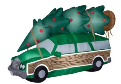 National Lampoon Christmas Vacation Station Wagon Christmas Inflatable Fabric 7