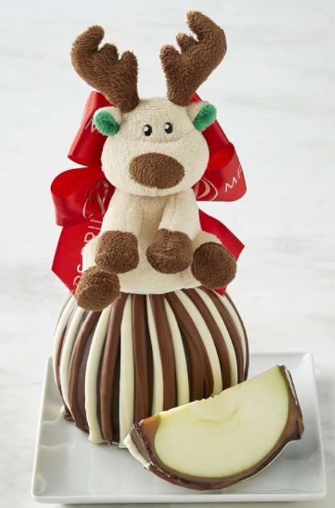 Reindeer Giant Caramel Apple