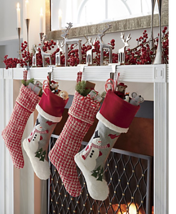 Crate & Barrel, Christmas Stockings