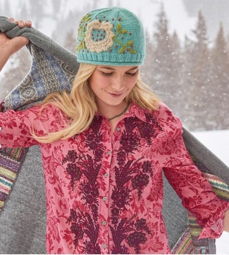 Sundance women's Bloom & Berry hat