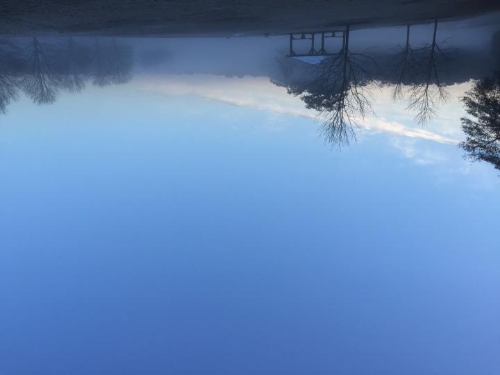 Image of moving fog