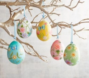 Pierre one Glitter floral eggs