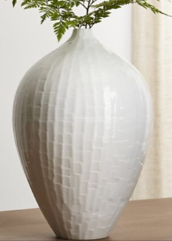 Crate & Barrel Paley vase
