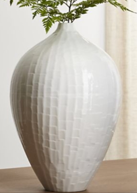 Crate & Barrel Paley vase