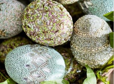 Pottery barn Jewel eggs