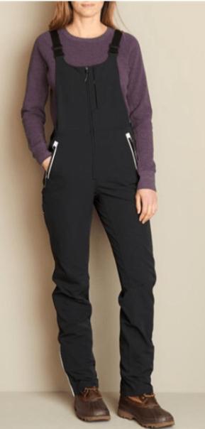 Duluth trading co, women's slim leg overalls