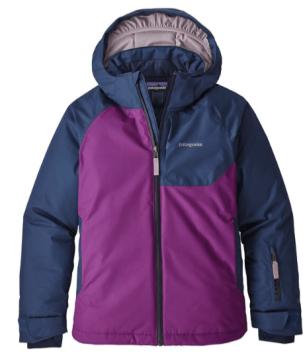 Patagonia, girls' Snowbelle jacket