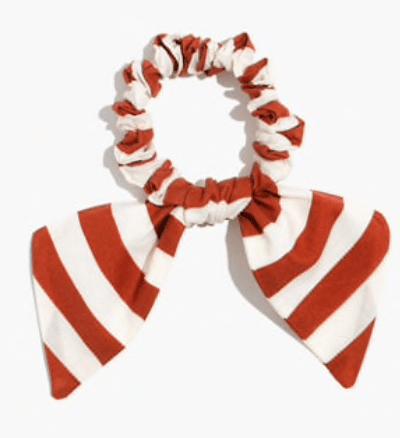 Madewell, bow scrunchie