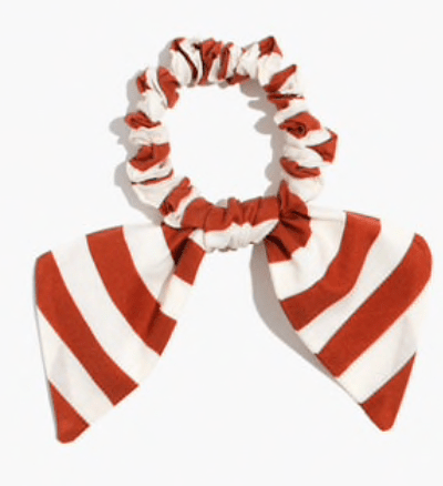Madewell, bow scrunchie