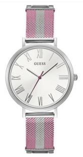 Guess, Pink & silver analog watch