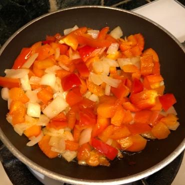 Sautéed bell pepper & onions